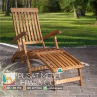 Lounge Chair Kursi Santai Lipat Steamer