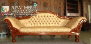 Toko Furniture Terpercaya Jual Sofa single mawar ukiran jepara