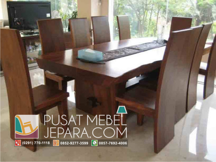 meja-makan-kayu-meh-solid-slab-dinning-table