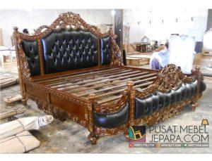 Ranjang Tempat Tidur Heavy Carved Baroque