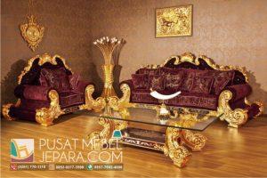 Set Kursi Tamu Sofa Mewah Michael Jackson