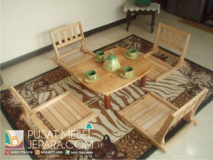 set-meja-makan-lesehan-model-jepang
