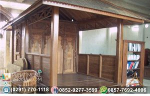 Gazebo Jati Pintu Model Gebyok