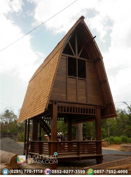 Gazebo Taman Rumah Kecil