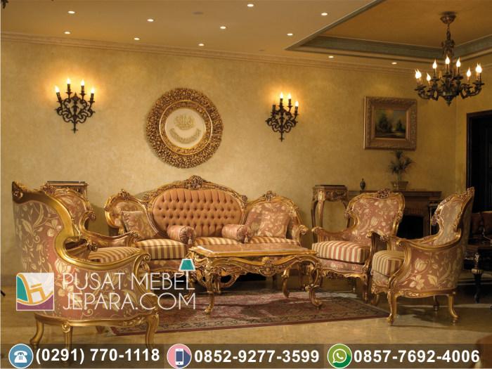 Jual Kursi Tamu Sofa Ukir Jati Modern Wilayah Kediri Jawa Timur
