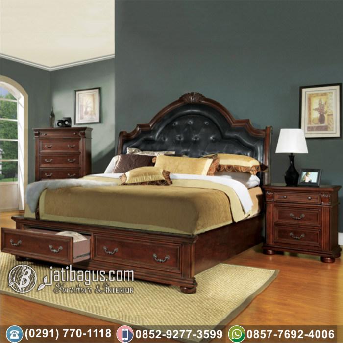 Jual Set Tempat Tidur Minimalis Terbaru Modern Jati Asli Wilayah Situbondo