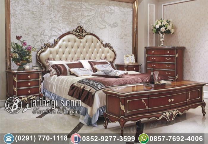 Jual Set Tempat Tidur Minimalis Terbaru Modern Jati Asli Wilayah Madura