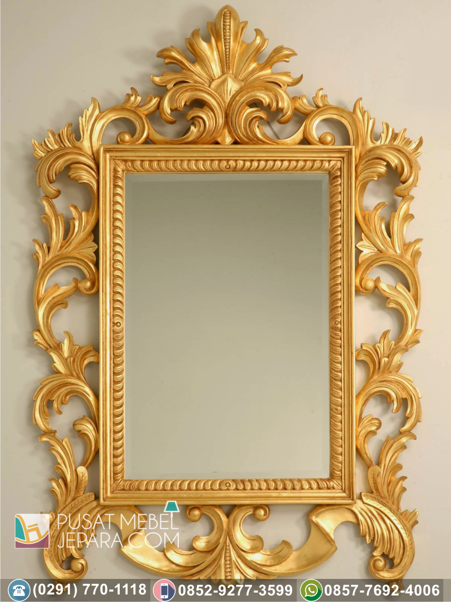 Bingkai Frame Pigura Cermin Ukir Minimalis Kediri Terpercaya