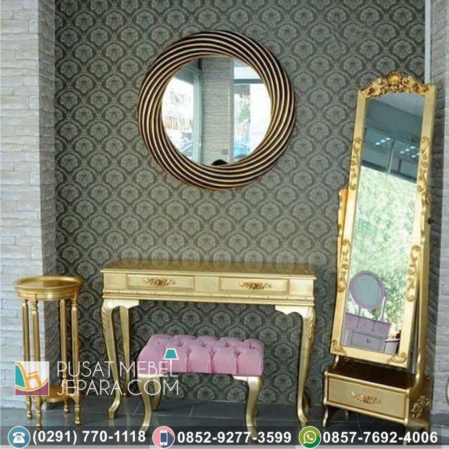 Bingkai Frame Pigura Cermin Ukir Minimalis Kendal Terpercaya