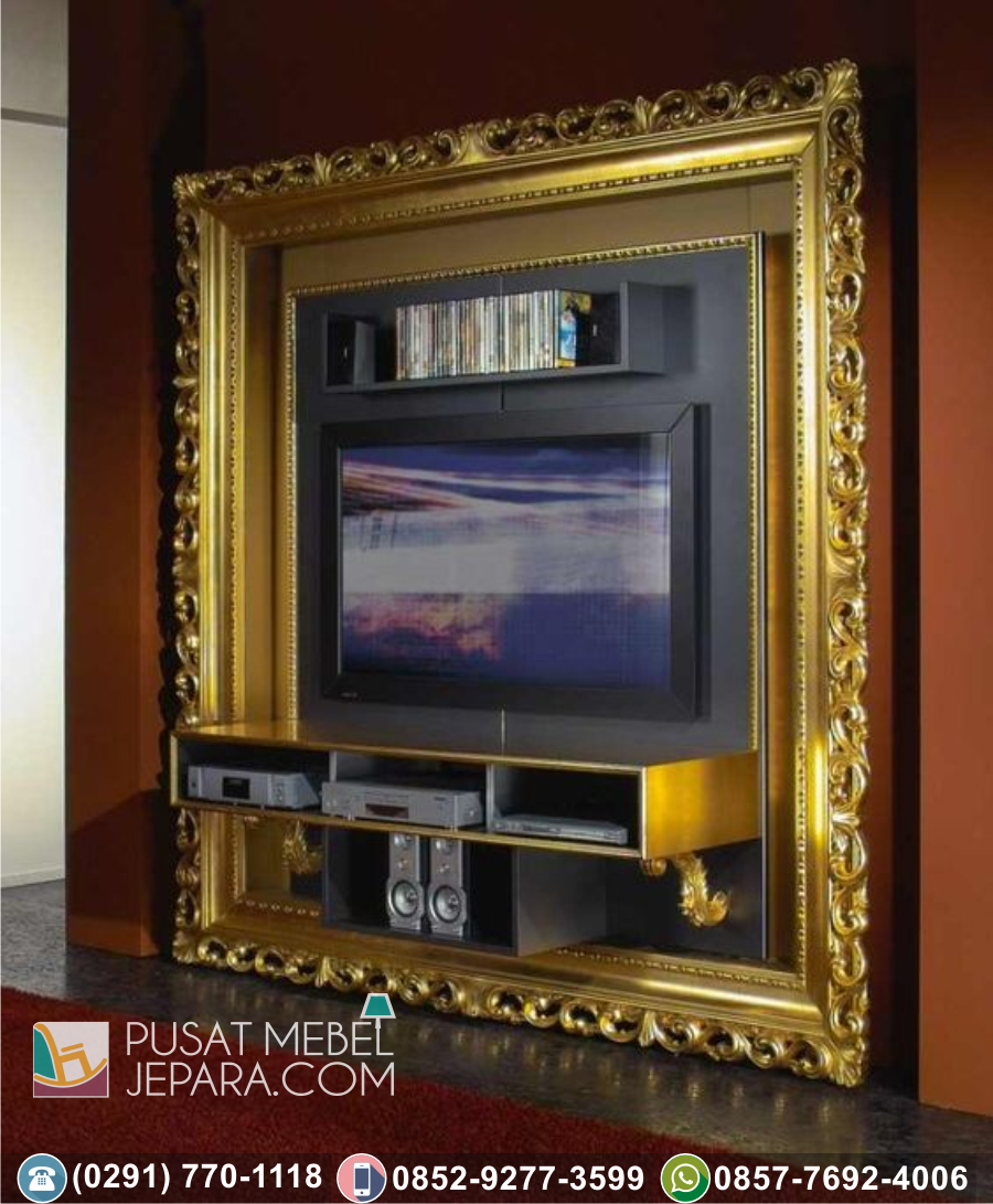Bingkai Frame Pigura Cermin Ukir Minimalis Kediri Klasik Mewah