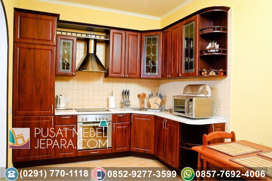 Jual Kitchen Set Jati Ukir Minimalis Tulungagung Klasik Mewah