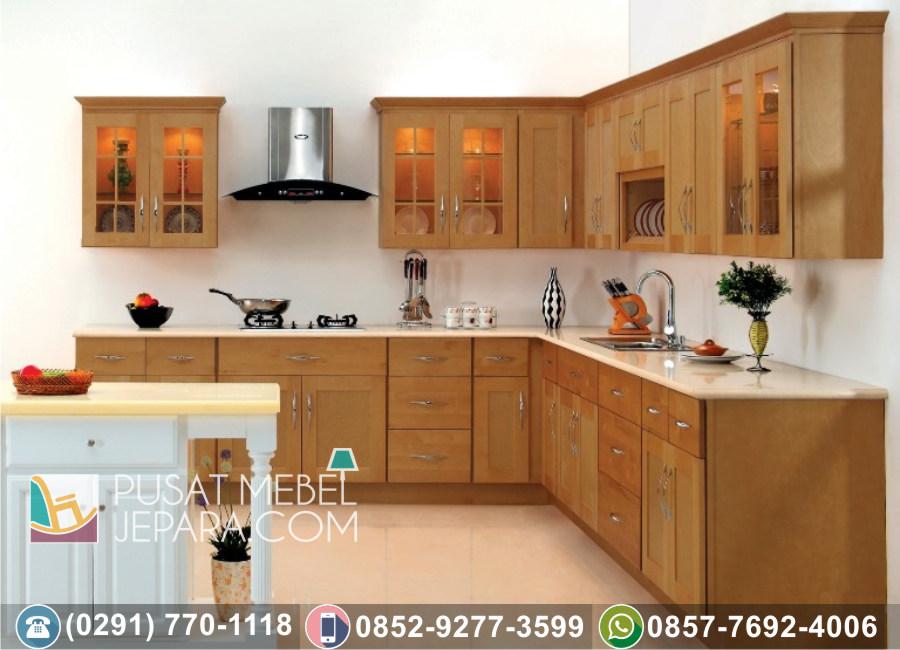 Jual Kitchen Set Jati Ukir Minimalis Indramayu Klasik Mewah