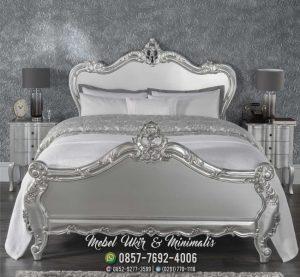Tempat Tidur Duco Ukir Klasik