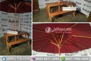 Kursi Meja Minimalis Kayu Untuk Taman